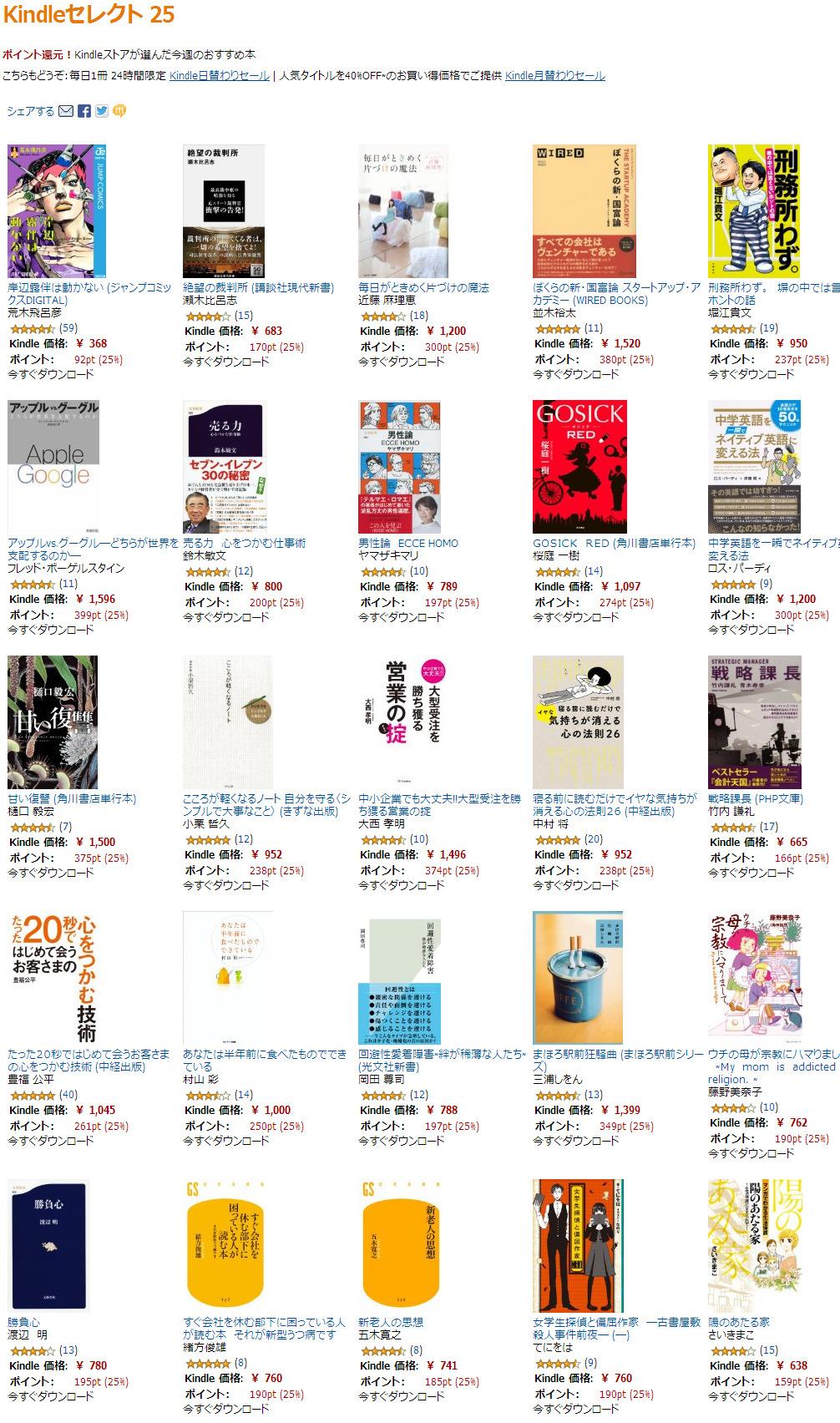 Amazon.co.jp  Kindleストア  Kindleセレクト25.jpg