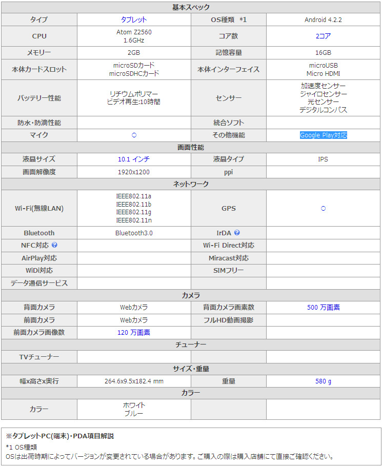 価格.com - ASUS ASUS MeMO Pad FHD10 ME302-16 スペック・仕様.jpg